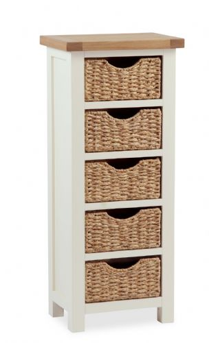 Country Tallboy with Baskets